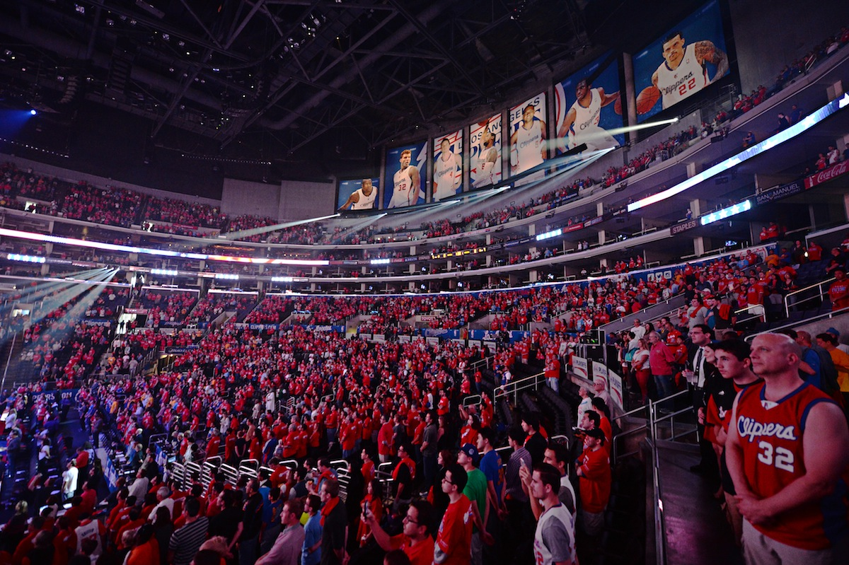Patten Pending Crowd For The Ages Los Angeles Clippers