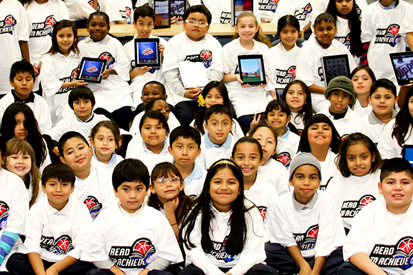 Image of Read to Achieve kids