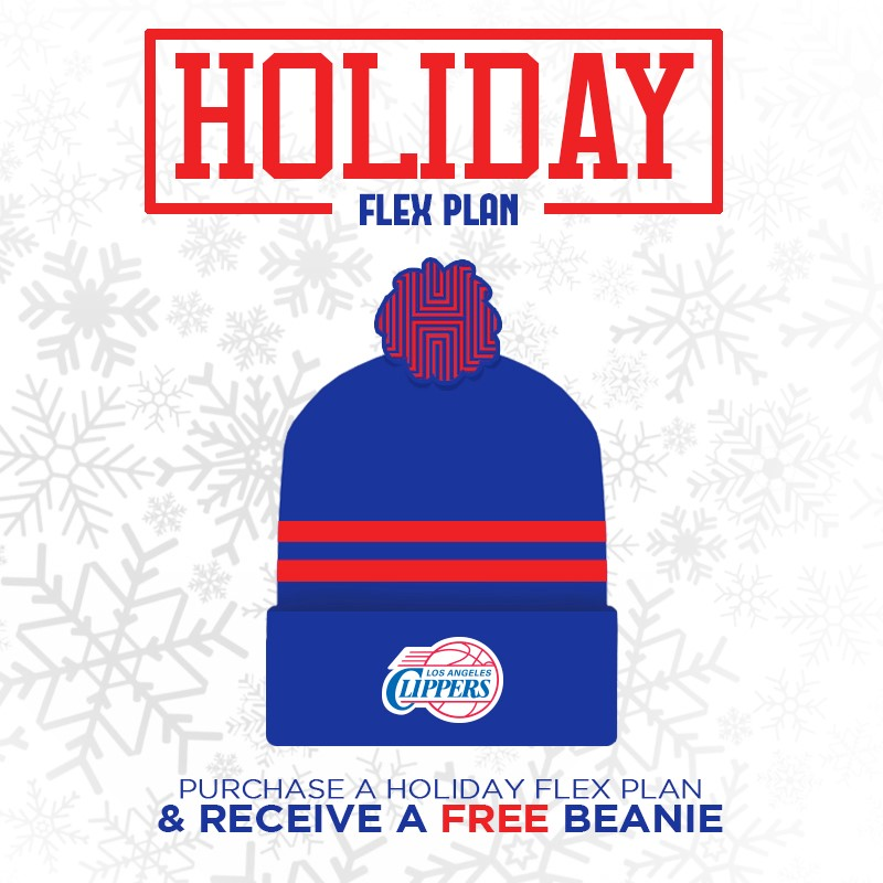 Image of the Clippers Holiday Ticket Plan