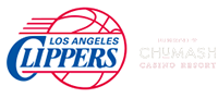 Clippers and Chumash Casino Resort footer ad