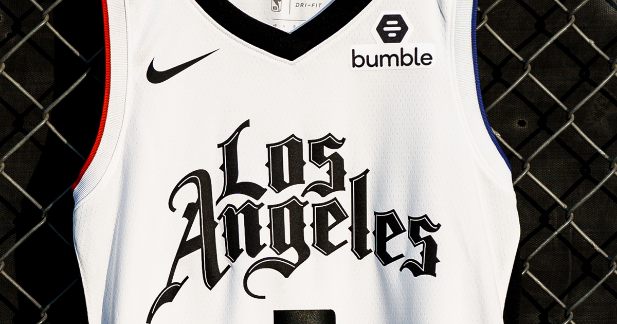 2019 20 Clippers City Edition Jersey Los Angeles Clippers