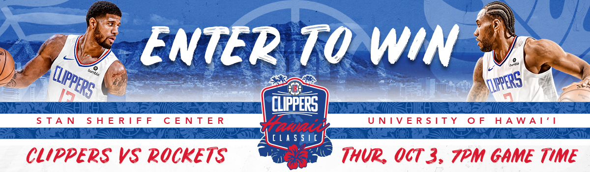 Clippers Hawai'i Sweepstakes