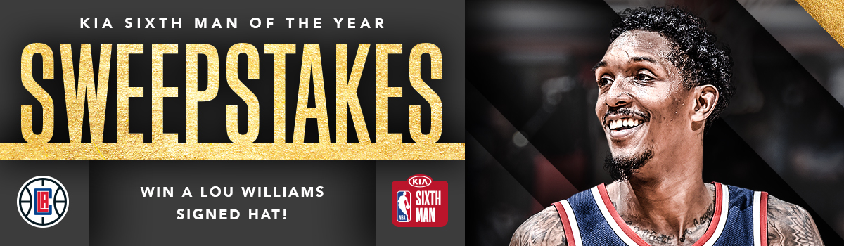KIA 6th Man Nominee Sweepstakes