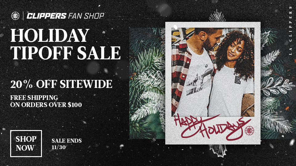 Holiday Tipoff Sale