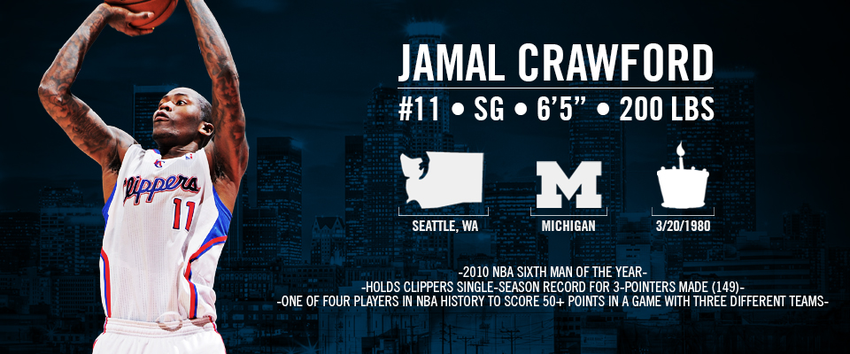 Jamal Crawford - Roster | LA Clippers - 362.8KB