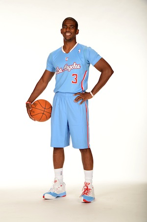 clippers sleeve jersey