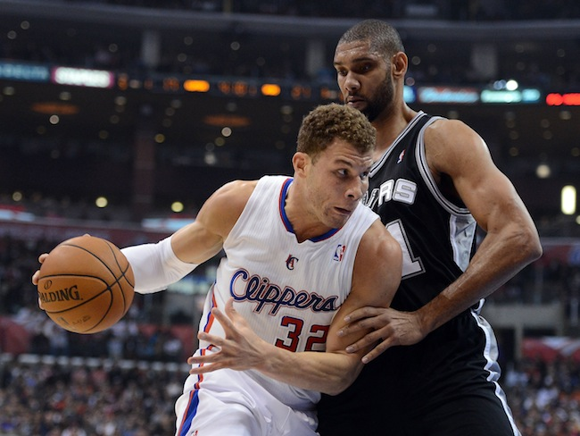 Clippers vs. Spurs