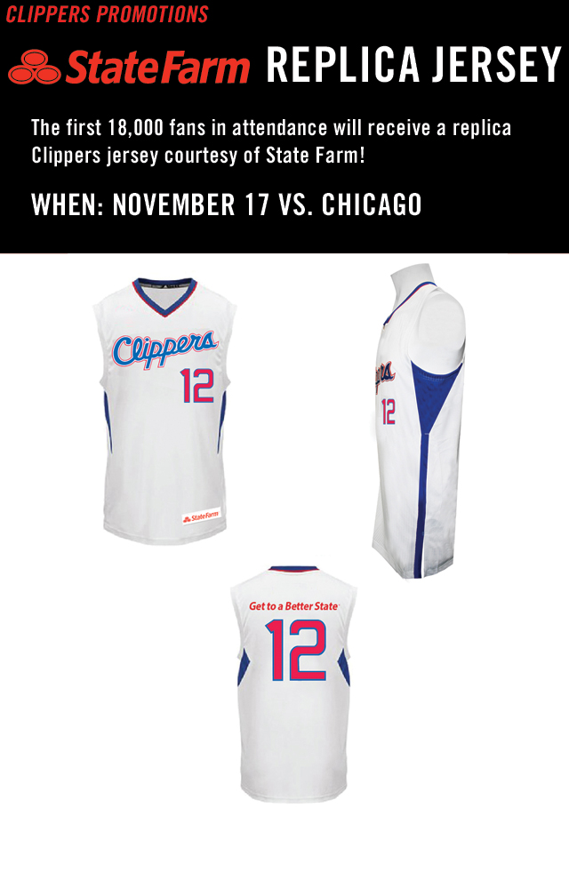 Clippers promotion giveaways