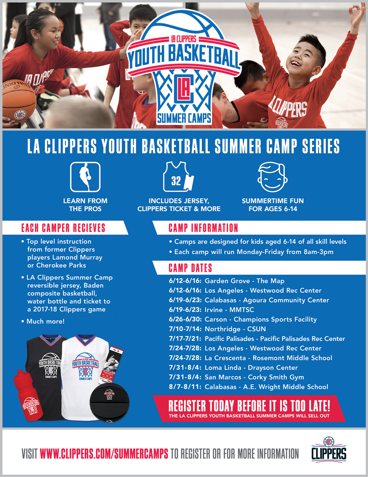 la clippers youth basketball la clippers
