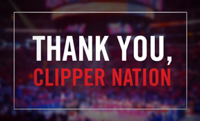 Thank You Clipper Nation