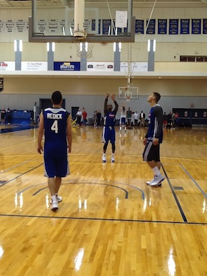 Photo of Clippers Training Camp in San Diego