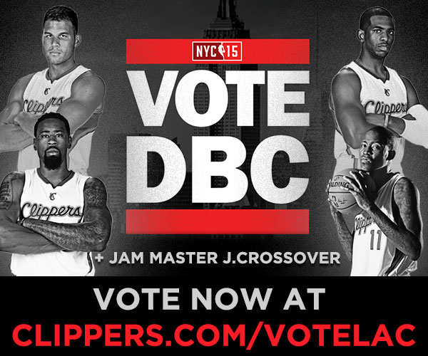 image of Clippers on the NBA All-Star Ballot