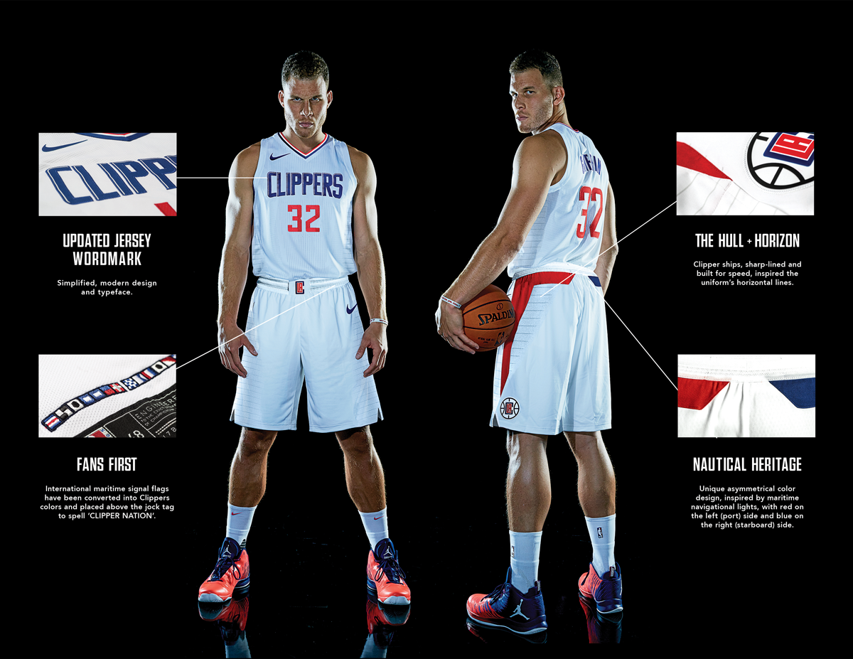 super popular 4e8d6 9fa14 Press Release: L.A. Clippers Unveil 2017-18 Nike Uniforms ...