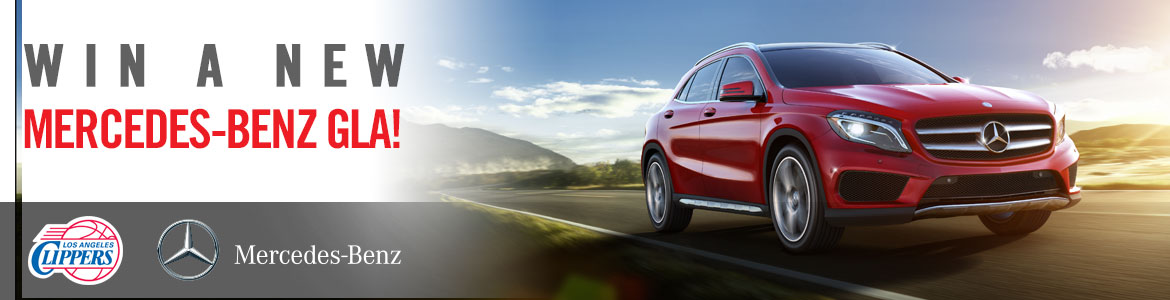 Mercedes benz sweepstakes la clippers for Mercedes benz giveaway