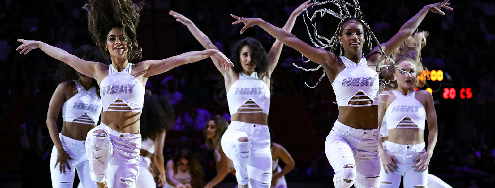 2018-19 Miami HEAT Dancer Performance