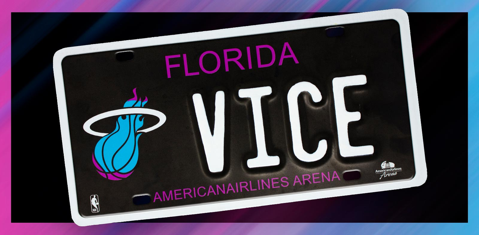 Vice Nights License Plate - Get