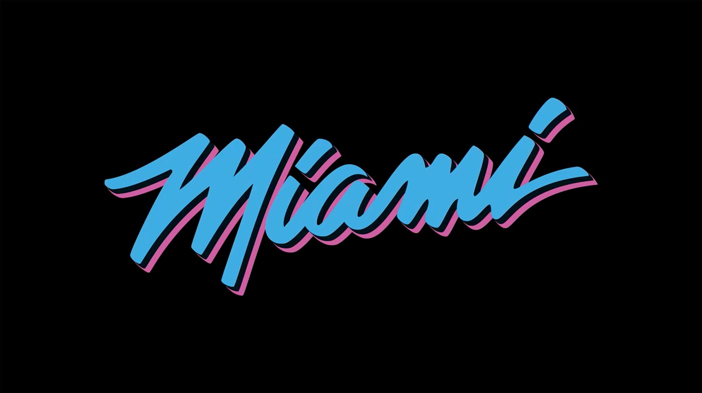 2018 19 Miami Heat Vice Nights Uniform Collection Home Miami Heat