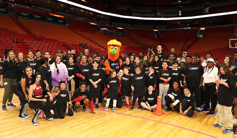 HEAT Youth Basketball Clinic