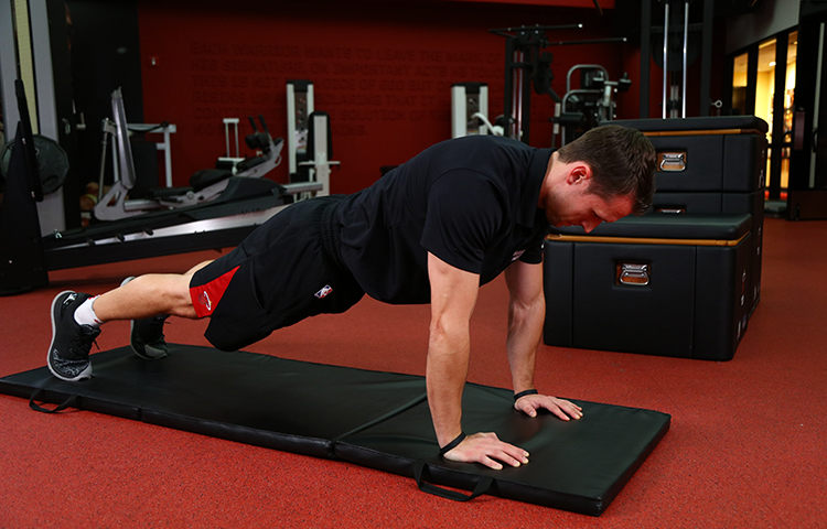 Get Fit With The Pros: Bird Dogs and Push-Ups | Miami Heat