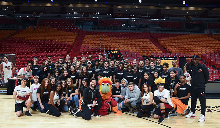 HEAT Host Youth Basketball Clinic Presented by Gatorade
