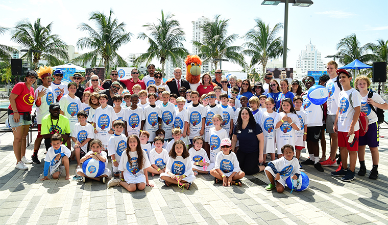 HEAT Surprise Students at JJC as Part of Learn to Swim Campaign