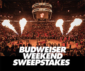 Budweiser Weekends Sweepstakes