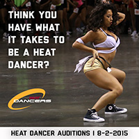 Miami HEAT Dancer Audition Details
