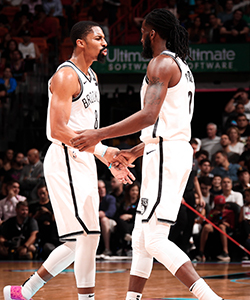 Spencer Dinwiddie, DeMarre Carroll