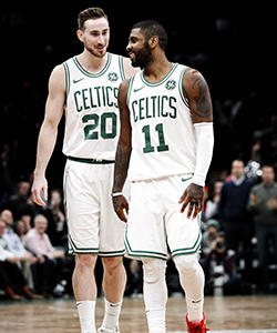 Gordon Hayward, Kyrie Irving
