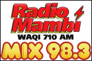 WAQI 710 AM | MIX 98.3 Logos