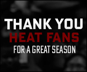 Thank you HEAT fans!