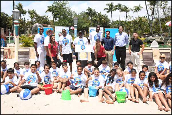 12th Annual Heat April Pool S Day The Official Site Of The Miami Heat