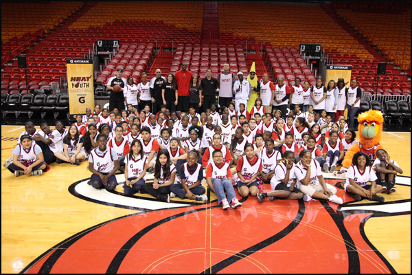 Chris Paul Hawks HEAT Host Youth Basket...