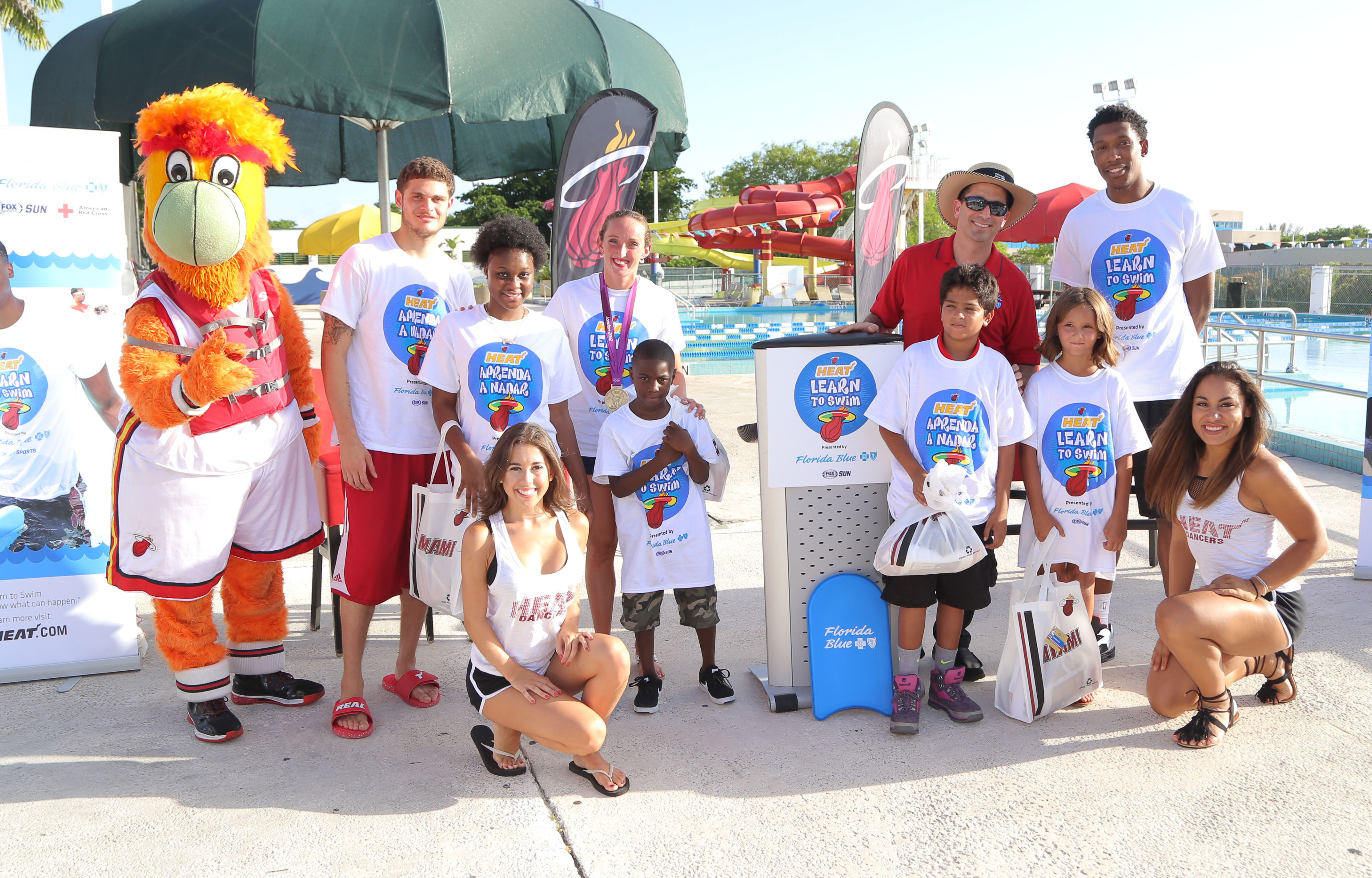 Johnson and Richardson to surprise young swimmers at Bucky Dent Water Park