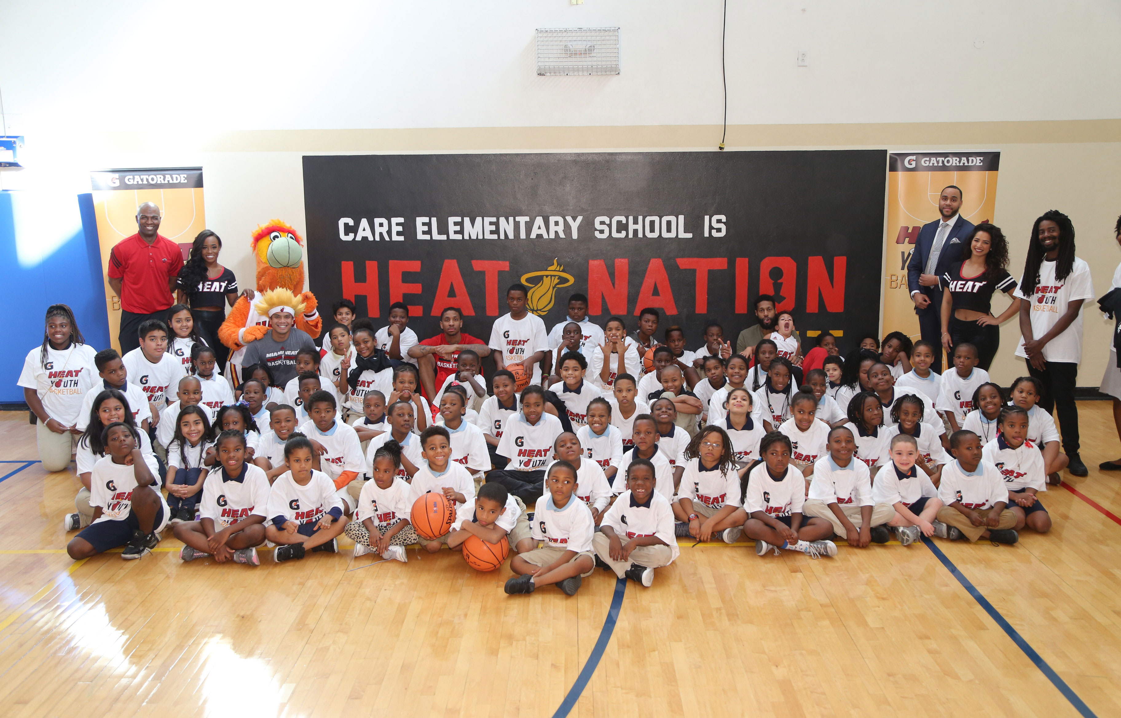 HEAT Host Youth Basketball Clinic