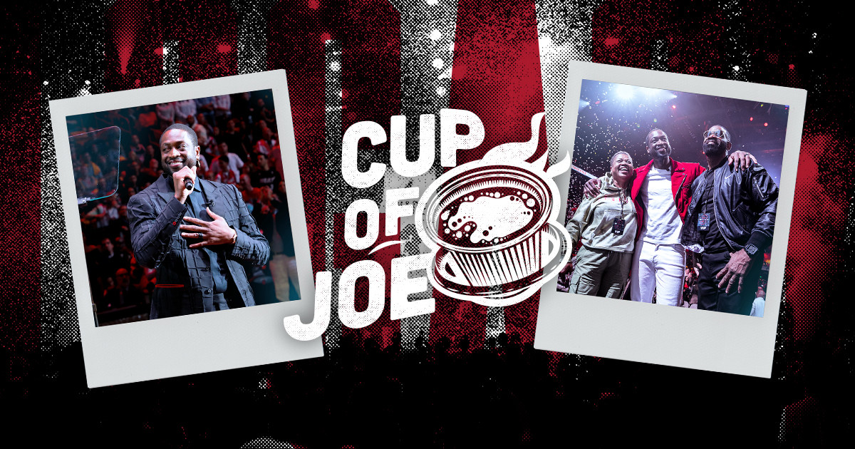 Cup of Joe: A Weekend To Remember | Miami Heat