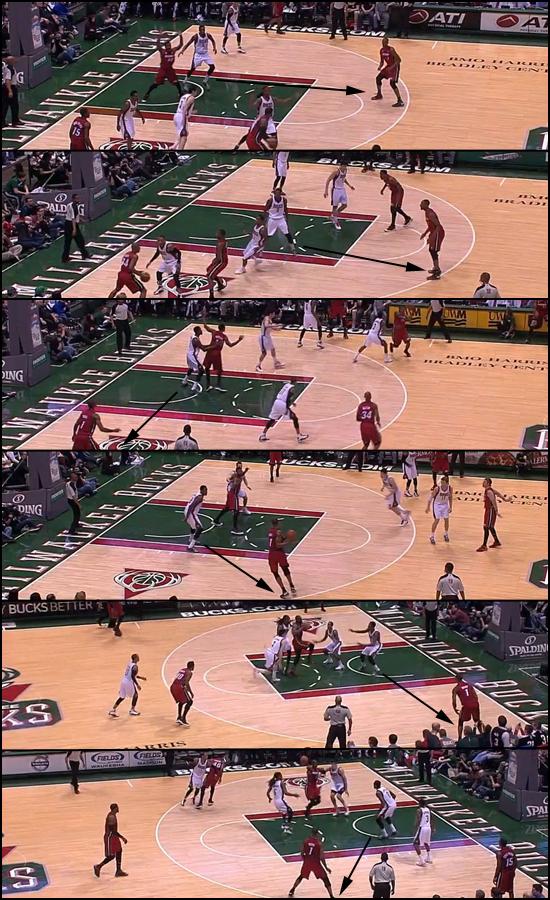 Sanders In, Bosh Out collage
