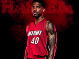 Miami RED Udonis Haslem Wallpaper