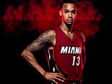Miami RED Shabazz Napier Wallpaper