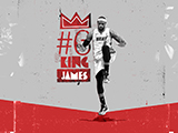 LeBron James Name Collection Wallpaper