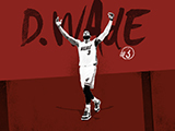 Dwyane Wade Name Collection Wallpaper