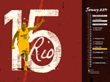 Mario Chalmers Name Collection Calendar Wallpaper