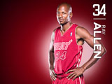 Ray Allen Red Zone Wallpaper