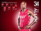 Ray Allen Red Zone Calendar Wallpaper