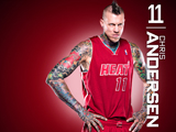 Chris Andersen Red Zone Wallpaper