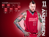 Chris Andersen Red Zone Calendar Wallpaper