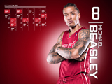 Michael Beasley Red Zone Calendar Wallpaper