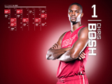 Chris Bosh Red Zone Calendar Wallpaper