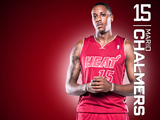 Mario Chalmers Red Zone Wallpaper