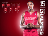 Mario Chalmers Red Zone Calendar Wallpaper